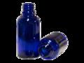 Flesje Kobaltblauw Glas DIN18 50ml