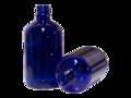 Flesje Kobaltblauw Glas DIN18 100ml